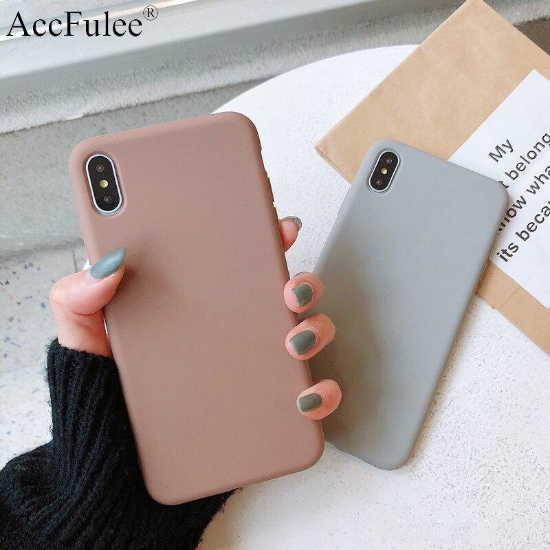 Ультратонкий однотонный чехол для Huawei Y5 Prime 2018 Y6II Y6 Pro 2017 Y7 Prime 2019 Y9 2019 мягкий чехол из ТПУ для телефона