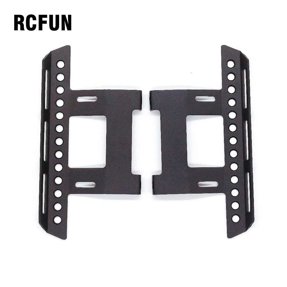 RC Car 1/10 Simulated Model Crawler Car Metal Side Pedal Body Shell Anti-skid Foot Pedal Plate fr SCX10 90046 90047 RC Car Modif enlarge