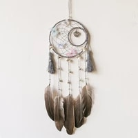 heart of dryad 65cm dreamcatcher colorful butterfly small bell indian wind bell home decor car pendant