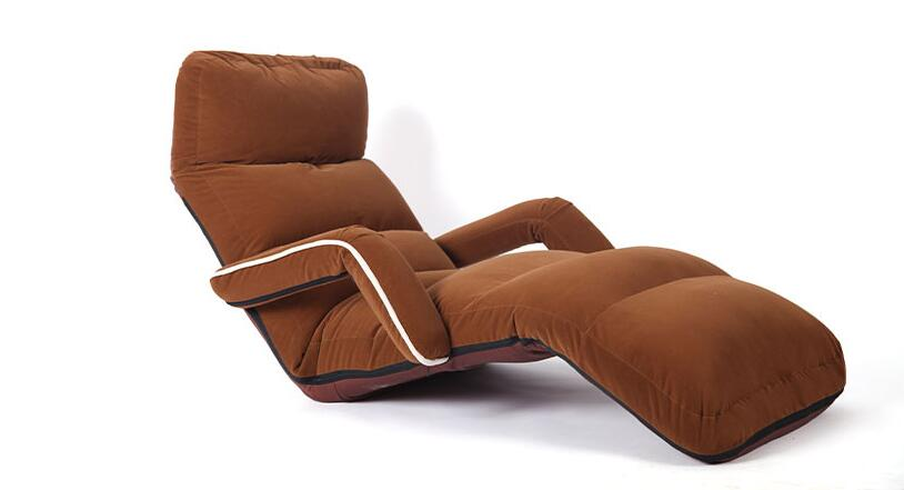 Новые ленивые диваны с одним подлокотником, Толстый Алюминиевый нагрузчик кг, диван, многопозиционная регулировка, удобный складной диван-...
