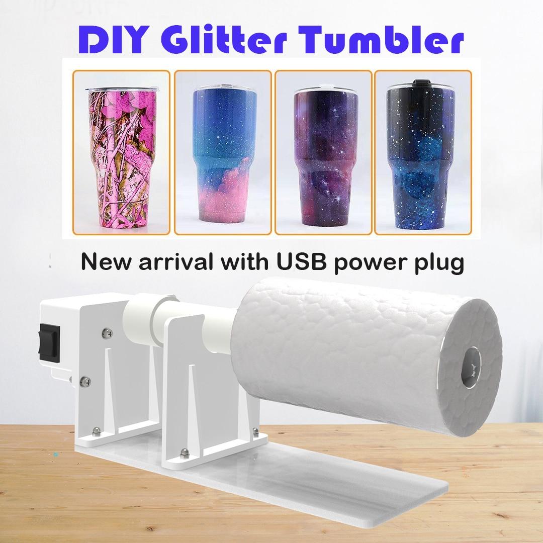 Cup Turner Spinner Kit for Crafts Tumbler Cup Tumbler Turner Machine For DIY Gitter Expoy Crafts Tumbler Cup Turner Machine недорого