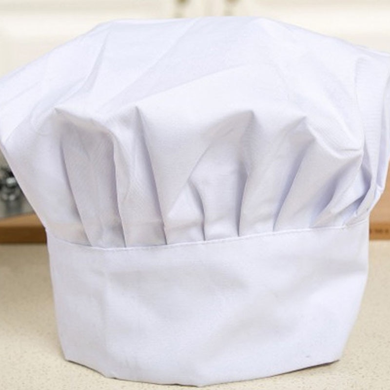 Chef Kitchen Hat Unisex Men Women Chef Waiter Uniform Cap Cooking Bakery BBQ Grill Restaurant Cook Work Hat Chef Cap Hat