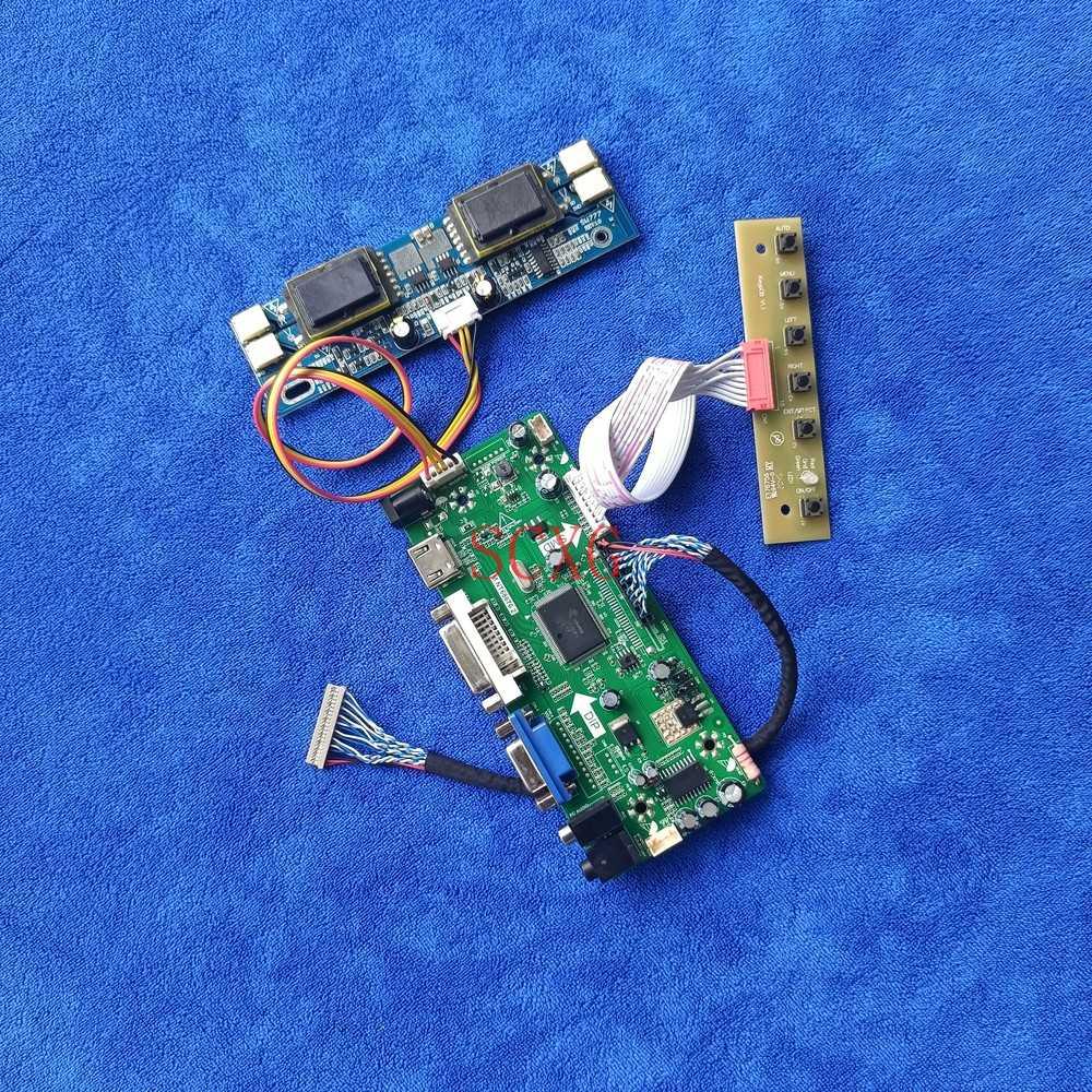 1024*768 HDMI متوافق DVI VGA MNT68676 لوحة تحكم تناسب HT15X13/HT15X14/HT15X15/HT15X23 عدة 20 دبوس LVDS شاشة الكريستال السائل 4CCFL