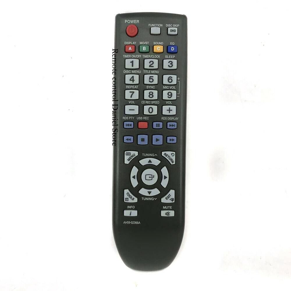 New Original AH59-02366A For Samsung Home Audio System Remote Control MX-D630D