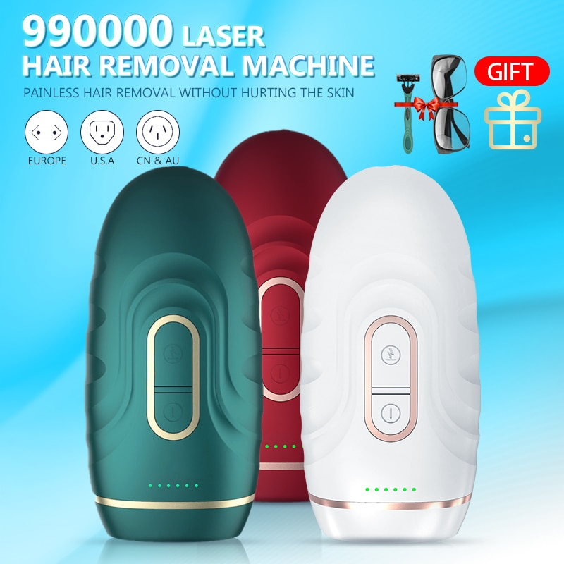 Permanent 990000 Flashes New Laser Epilator IPL Photoepilator Laser Hair Removal depiladora Painless electric shaving Dropship