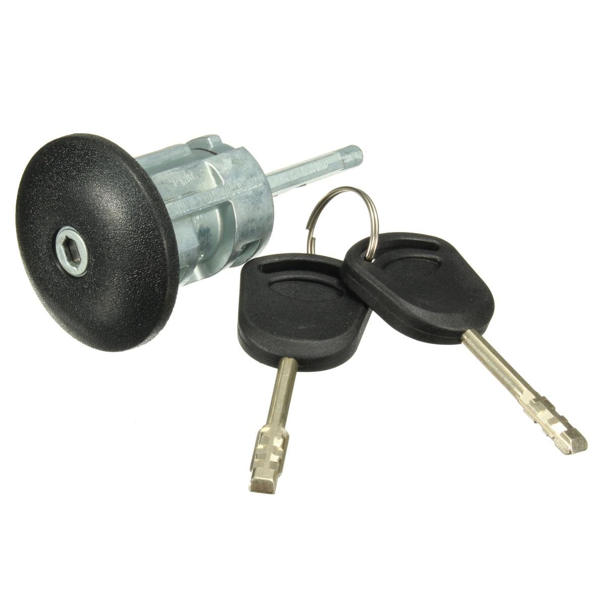 Front Right Driver Side Door Lock Barrel & 2 Keys 4060638 for Ford Transit MK6 2000 2001 2002 2003 2004 2005 2006
