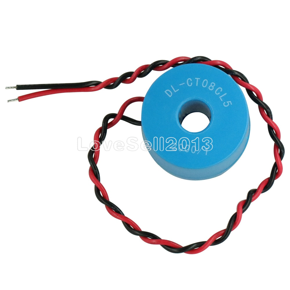 1 шт. DL-CT08CL5 20A/10mA 2000/1 0 ~ 120A микро трансформатор тока