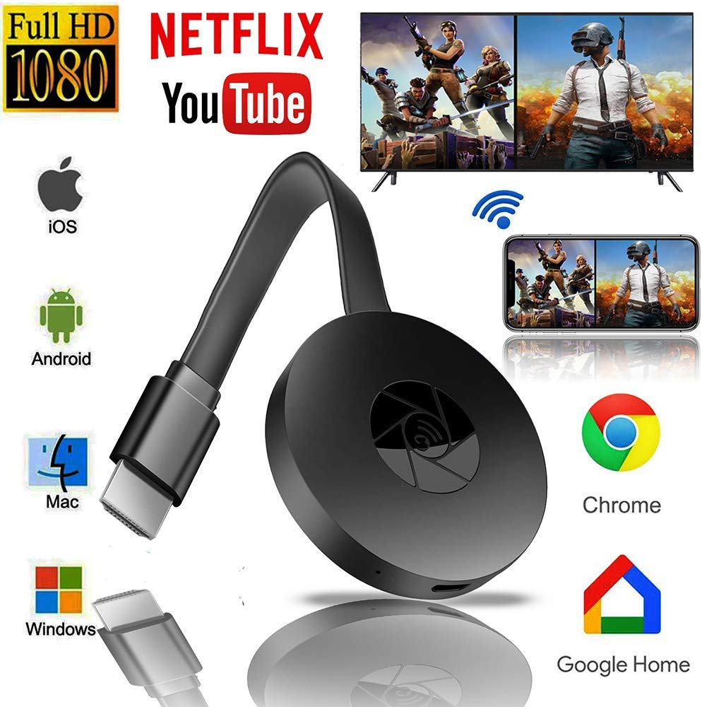 Android / IOS Wireless HDMI-compatible Display Dongle HD Mobile TV Projection Video Transmission WIF