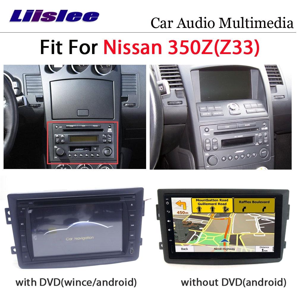 Автомобильный DVD мультимедийный плеер для Nissan 350Z Z33 2007 ~ 2009 радио Android Стерео GPS карта навигационная система аудио Установка набор