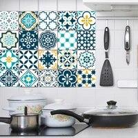 Autocollants muraux en PVC auto-adhesif marocain  papier peint impermeable pour cuisine salle de bains  decor de salon  DIY bricolage