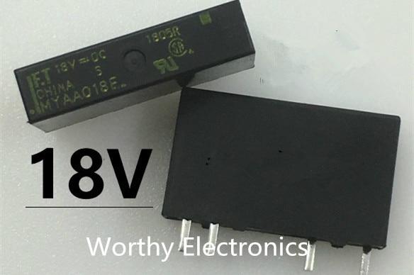 MYAA018E F.T relay 4 feet 18VDC MYAA018E