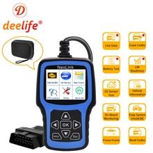 Deelife OBD2 Авто диагностический сканер OBD 2 сканирующий инструмент ODB2 диагностики читатель кода OBDII профессиональный автомобильный диагностический сканер для автомобиля