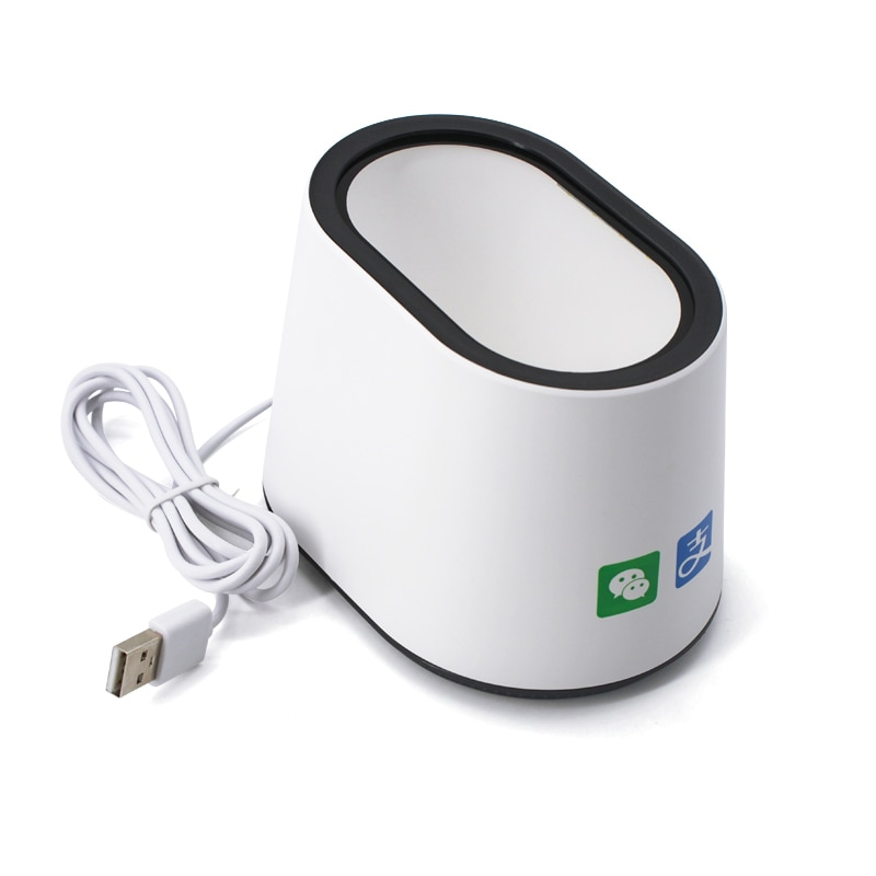 USB Cable Wired LED Barcode Scanner Box USB 2.0 Interface Desktop Barcode Scanner 1D 2D RFID Barcode Scanner Gun 2m straight usb dada usb cable for honeywell metrologic ms9540 ms9520 ms7120 ms5145 ms9535 barcode scanner