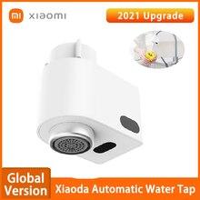 Автоматический водопроводный кран Xiaomi Xiaoda, умный смеситель с инфракрасным датчиком, энергосберегающая насадка для ванной и кухни