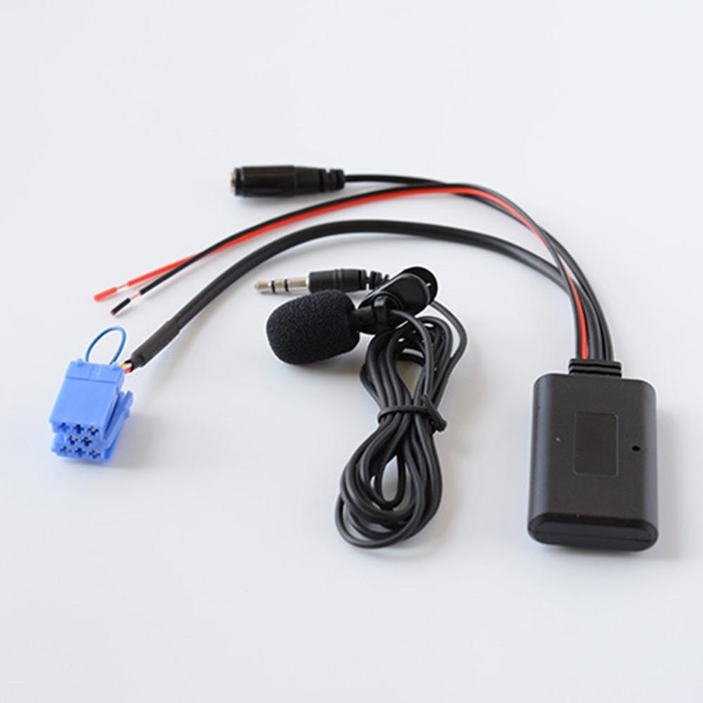 Cable de Entrada de Audio auxiliar inalámbrico para Mercedes Benz Smart Fortwo...