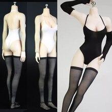 متوفر 1/6 مقياس مثير الإناث الملابس أبيض/أسود ملابس السباحة ملابس داخلية بيكيني من PS4 نيل الميكانيكية Era2B الملابس مجموعة