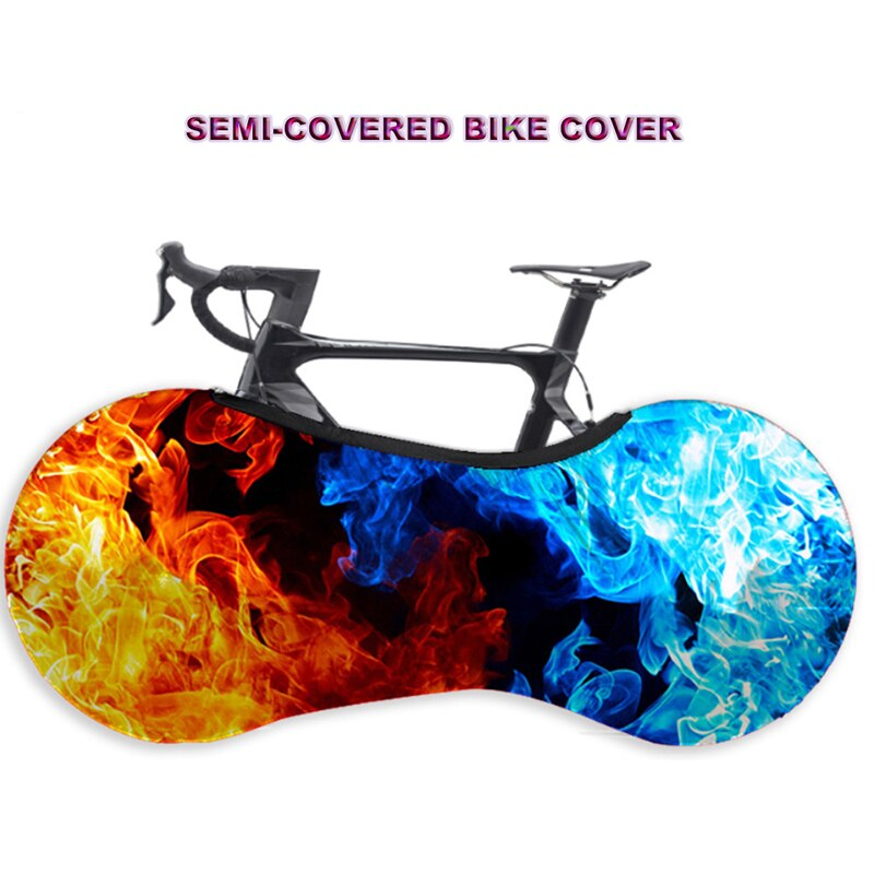 Fashion Bike Anti-dust Protector Cover MTB Road Bicycle Protective Gear Wheels Frame Half Cover Scra