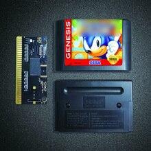 Soniced игра Ежик 16 бит MD карточная игра для Sega Megadrive игровой консоли картридж