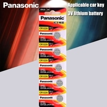 5 PZ/LOTTO Originale Panasonic CR1220 Batterie A Bottone CR 1220 3V al litio Batteria DELLA MONETA BR1220 DL1220 ECR1220 LM1220
