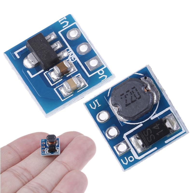 1pc High Quality DC-DC 1.8V 2.5V 3V 3.3V 3.7V To 5V Step Up Power Voltage Boost Converter Board Whosale