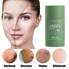 Personal Skin Care Face masks Face cream green mask stick Green Tea Purifying Mask Oil Control Solid