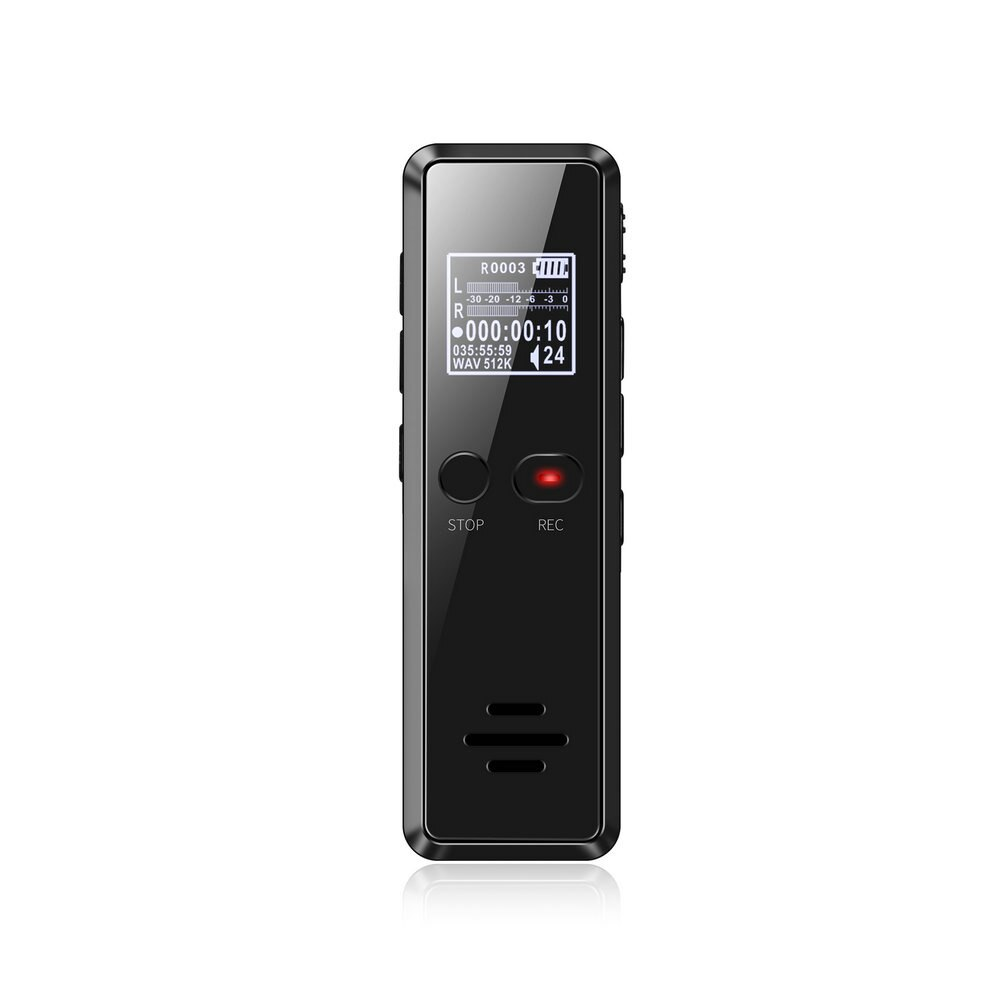 V90 Micro Digital Voice Activated Recorder Dictaphone Long Distance 8GB Audio Recording MP3 Player Noise Reduction WAV Record