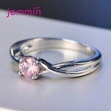 Exquisito anillo de compromiso de Plata de Ley 925 con diseño de Cruz de doble capa de tendencia coreana, anillo de compromiso para mujer