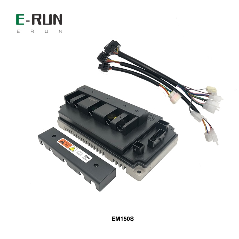 Free Shipping VOTOL EM150S 150A Boost Sine Wave BLDC Controller For QS Mid Drive 3KW 4KW Motor enlarge