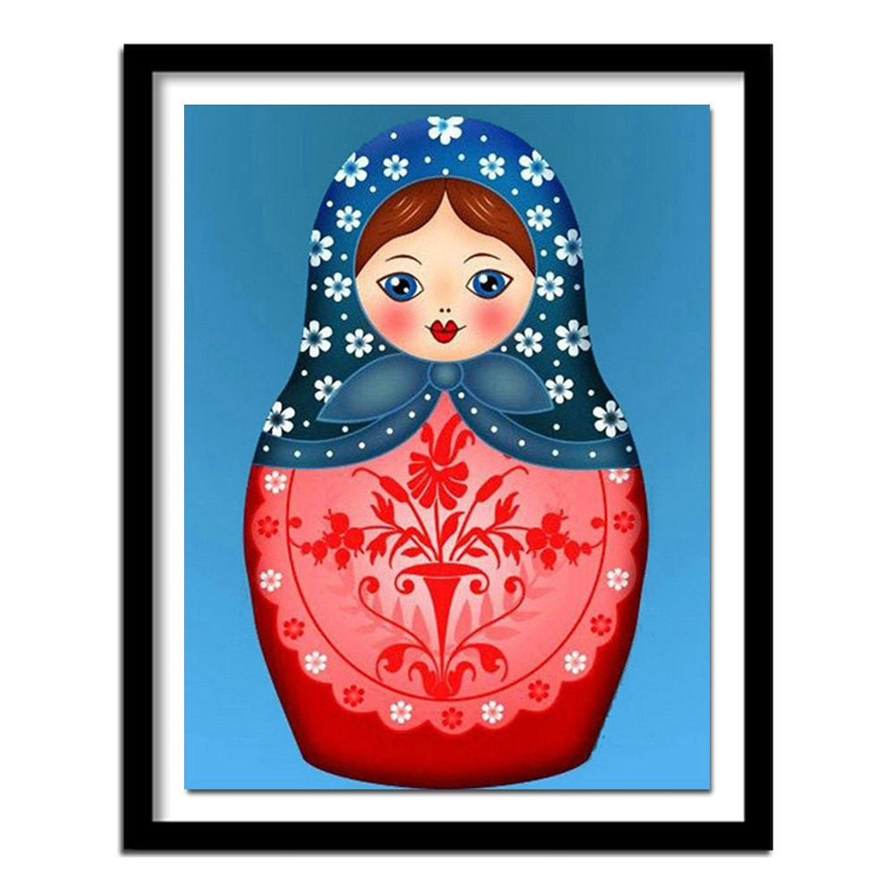 5d diy diamante bordado russo matryoshka boneca imagens pintura diamante kits de ponto cruz decoração para casa