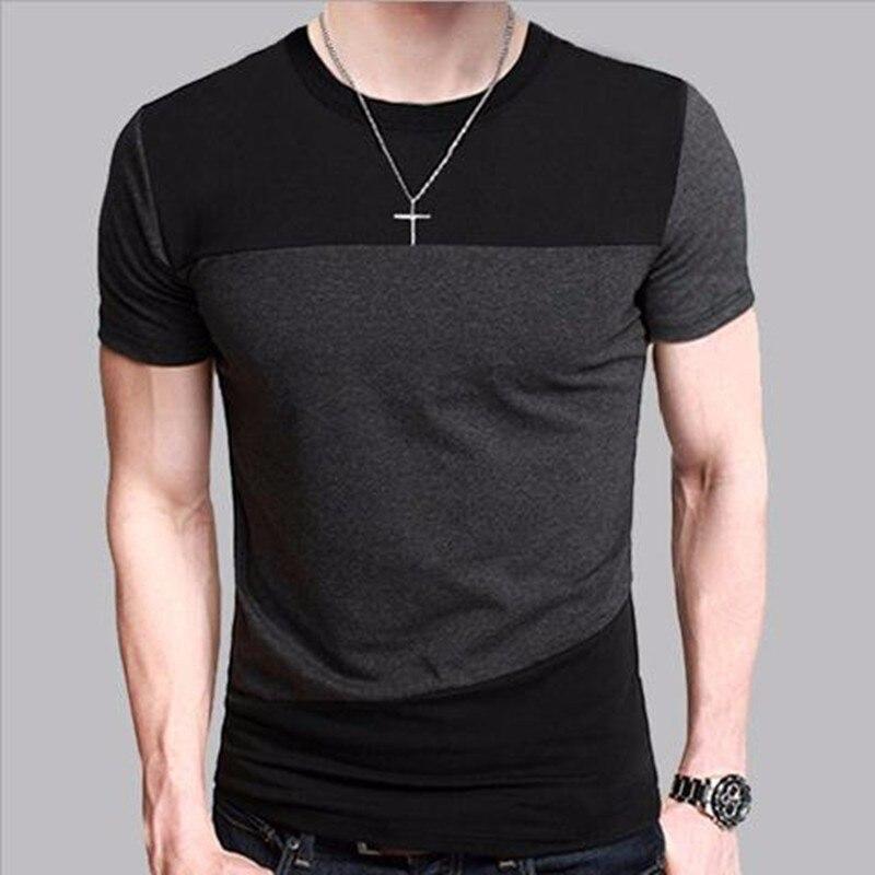 2017 Junior Short Sleeve T-Shirt Men's Korean Summer Loose Cotton T-Shirt