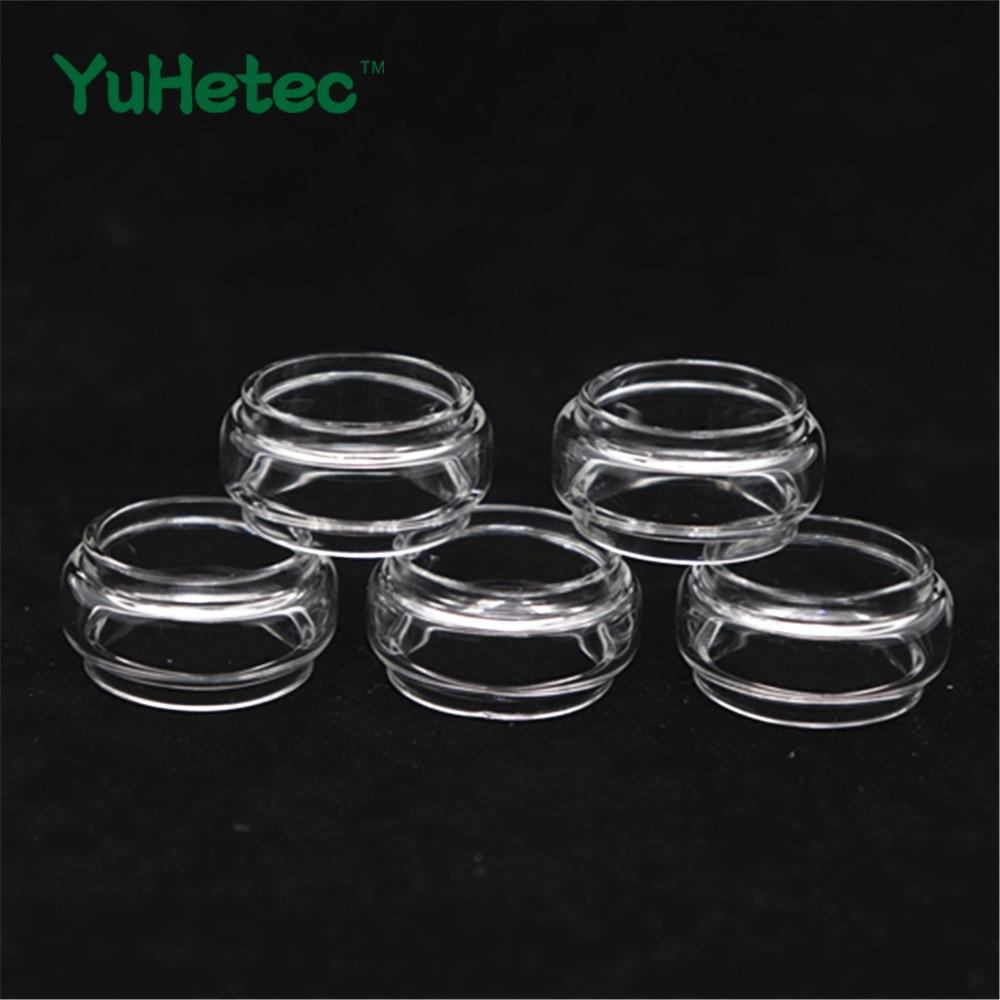 5PCS YUHETEC Replacement Glass TUBE for Vandy Vape Kylin M RTA Adjustable 3ml /4.5ml Capacity Electronic Cigarette Atomizer tank недорого