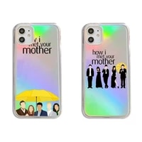 how i met your mother tv show phone case transparent for iphone 7 8 11 12 se 2020 mini pro x xs xr max plus