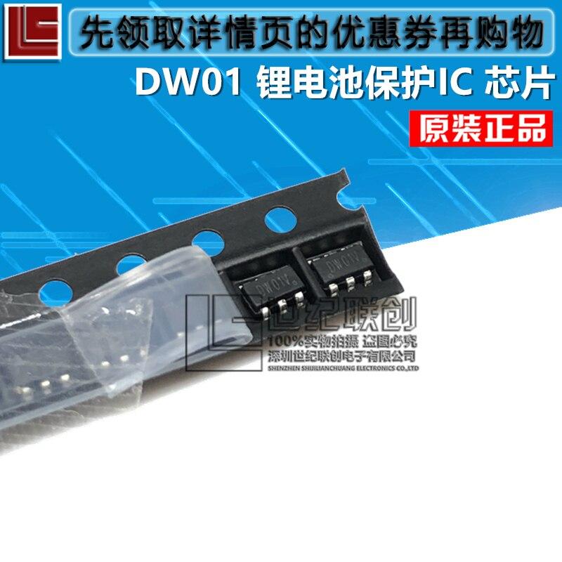 2019 vente directe Proion 100% nouveau et original DW01 DW01D DW01A SOT-23