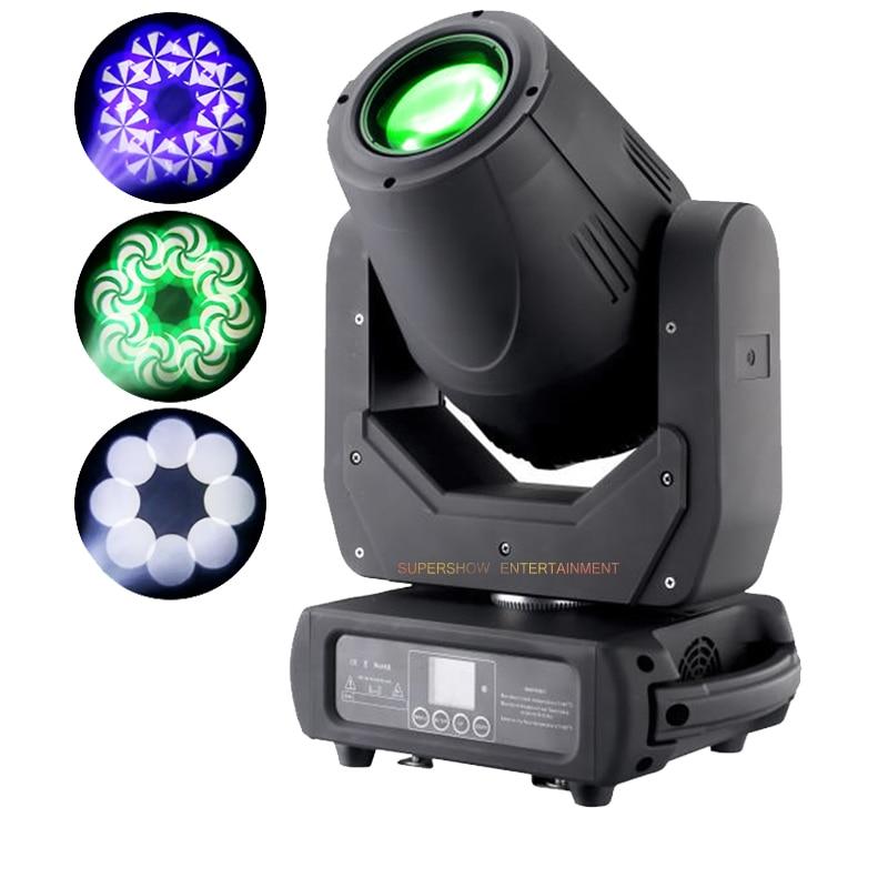 150W LED شعاع بقعة غسل 3 في 1 تتحرك رئيس ضوء 7 ألوان مع وظيفة التكبير ل DJ ديسكو ضوء نادي المرحلة تأثير الإضاءة