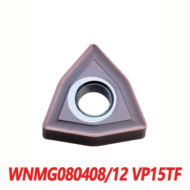 100% الأصلي WNMG WNMG080408 VP15TF WNMG080412 10 قطعة آلة خرط تعمل بالتحكم الرقمي بواسطة الحاسوب إدراج كربيد إدراج المستوردة من اليابان ضمان الجودة