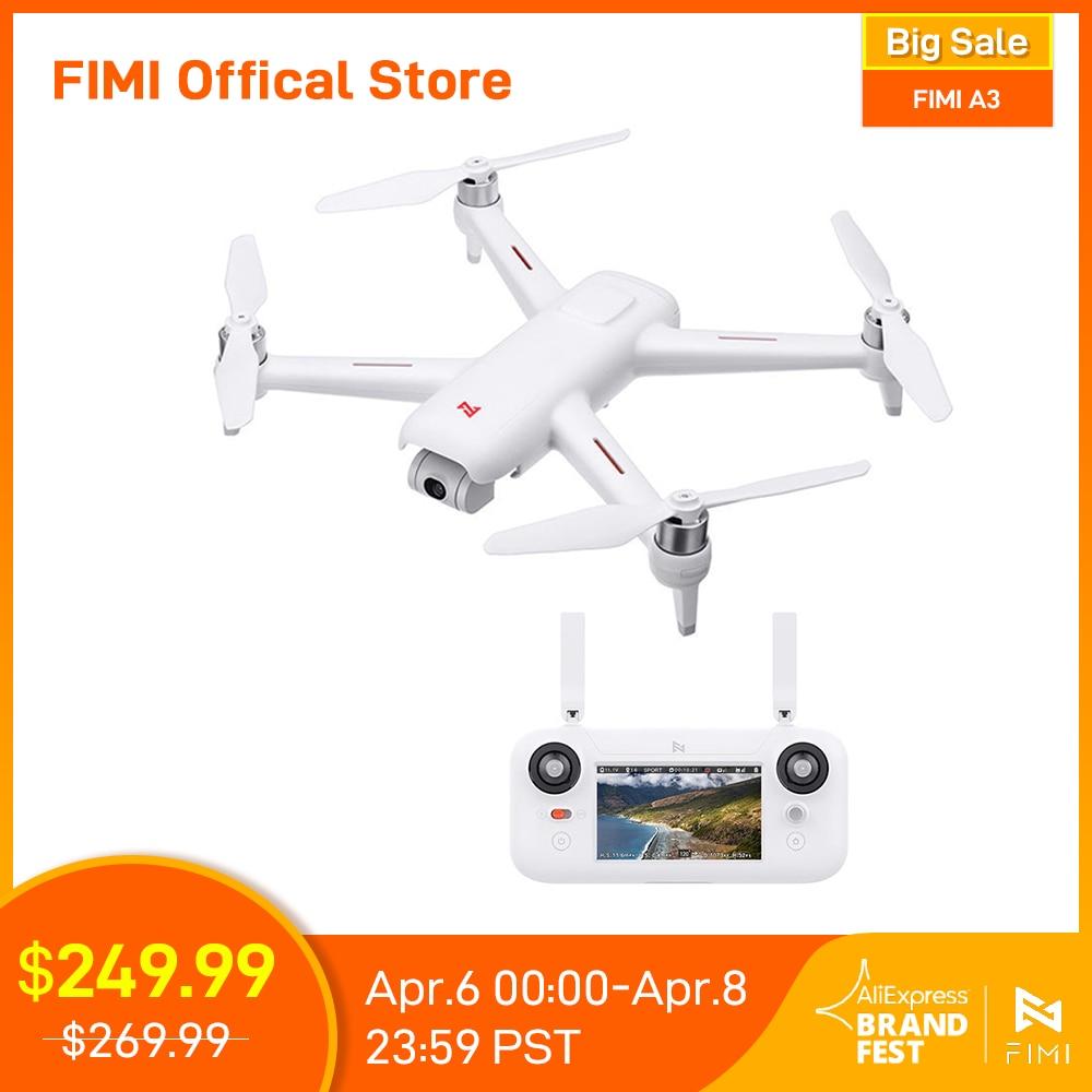 FIMI A3 camera Drone 5.8G GPS Original A3 Drone 1KM FPV 25 Mins 2axis Gimbal 1080P Camera RC Quadcopter drone accessory kit