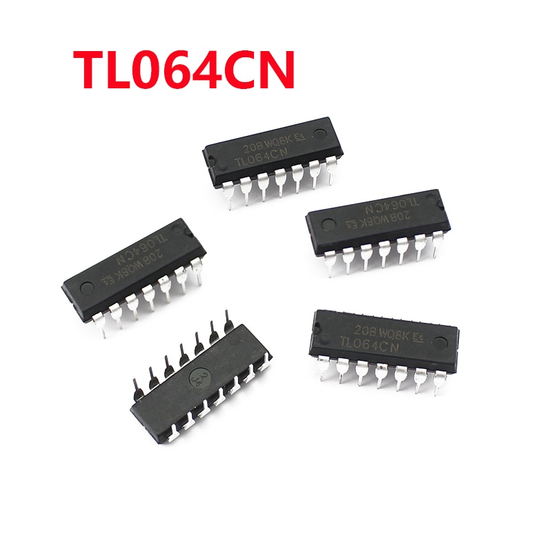 5PCS 10PCS  TL064CN DIP-14 TL064 DIP14 Operational Amplifier Chip 5pcs mcp3008 i p mcp3008 i mcp3008 dip14