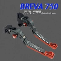 for moto guzzi breva 750 classic stornello stone special custom motorcycle cnc aluminum folding extendable brake clutch levers