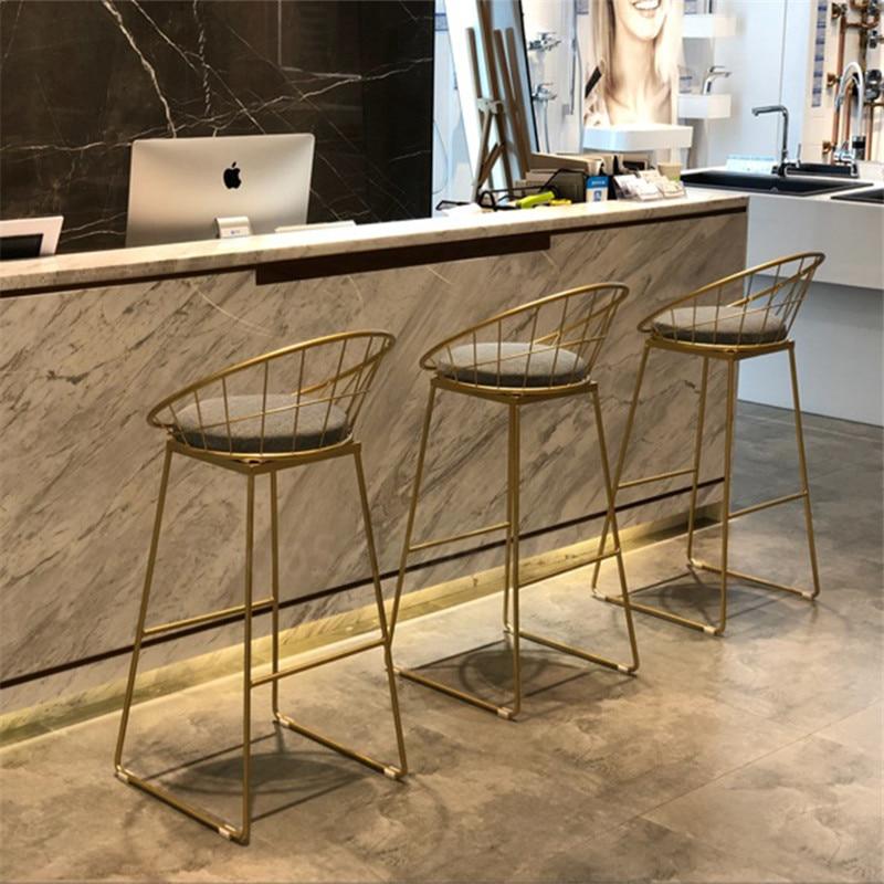 Стулья для кухни, высокие стулья, барные стулья, золотые стулья, современные стулья, обеденный стул, скандинавский стиль, барные стулья и сто...
