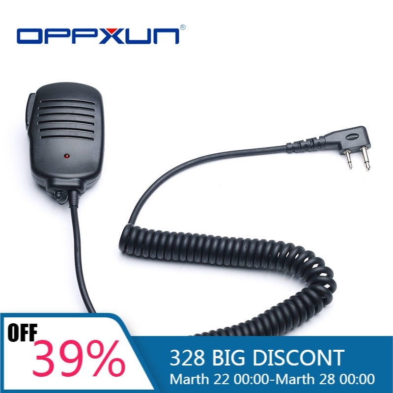 2021 Hot Wholesale 2PIN Hand Mike Microphone for ICOM V8 F21 F11 V82 V85 F26 F22 IC-02AT IC-03AT Walkie Talkie Dropshipping