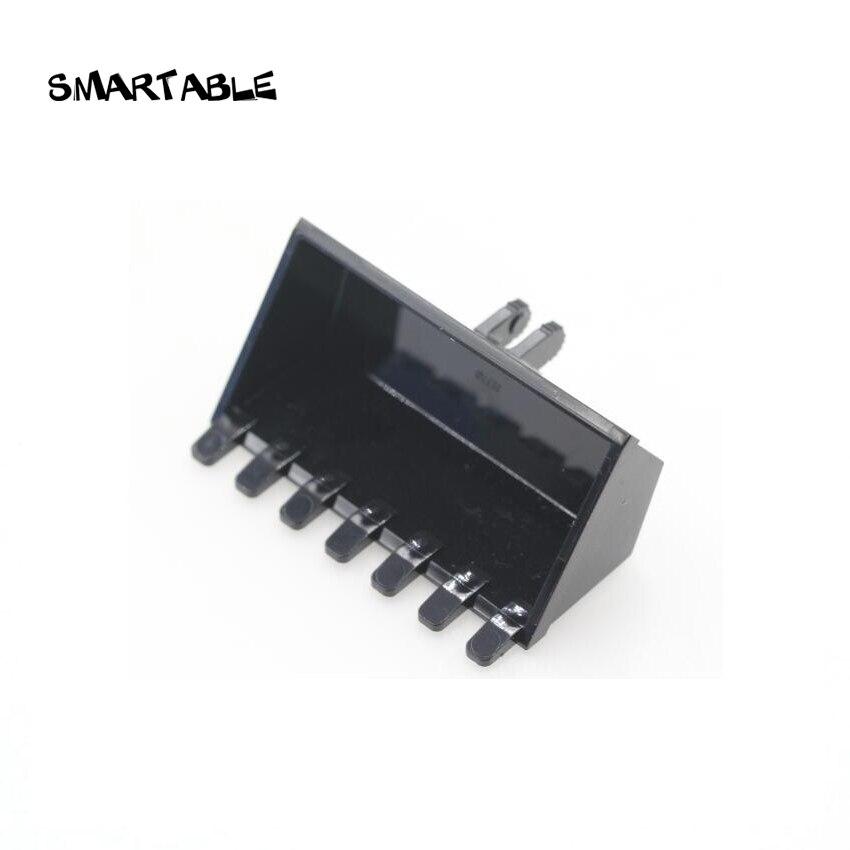 Smartable Excavator Bucket 6x3 with Click Hinge 2-Finger Building Block MOC Parts Toys For Kid Compatible 21709/30394 10pcs/Set