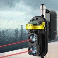 two beam infrared on beam alarm sensor beam detector waterproof engineering plastics reliable louder alarm monitor for home