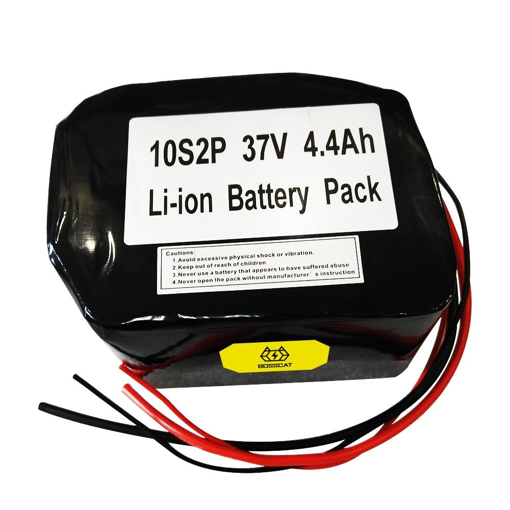 10s2p 37V 4.4Ah خلية بطارية ليثيوم قابلة للشحن لبطارية دراجة كهربائية سكوتر