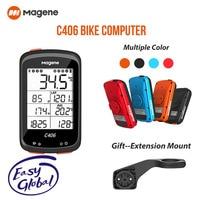 Magene C406 GPS Bike Computer Wireless Smart Cycling Speedometer  Sync Speed Sensor MTB Road Waterproof Bicycle Monito Data Map