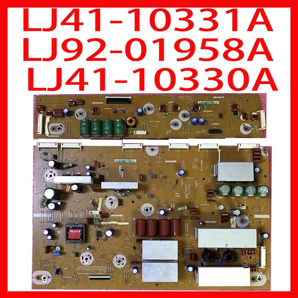 البلازما مجلس Y مجلس + X مجلس LJ41-10331A LJ92-01958A LJ41-10330A 100% امدادات الطاقة بطاقة للتلفزيون PS60F5000AR مجلس الطاقة للتلفزيون