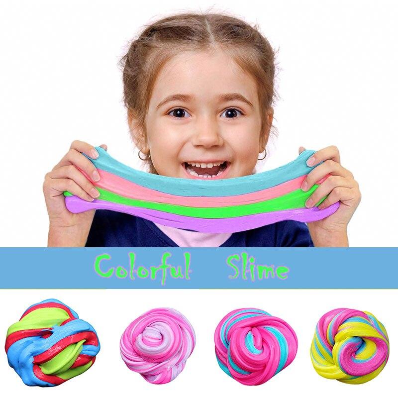 ¡Novedad! Suministros de bolas de arcilla de espuma de colores suaves, juego con forma de fruta, nube, antiestrés, juguetes para niños