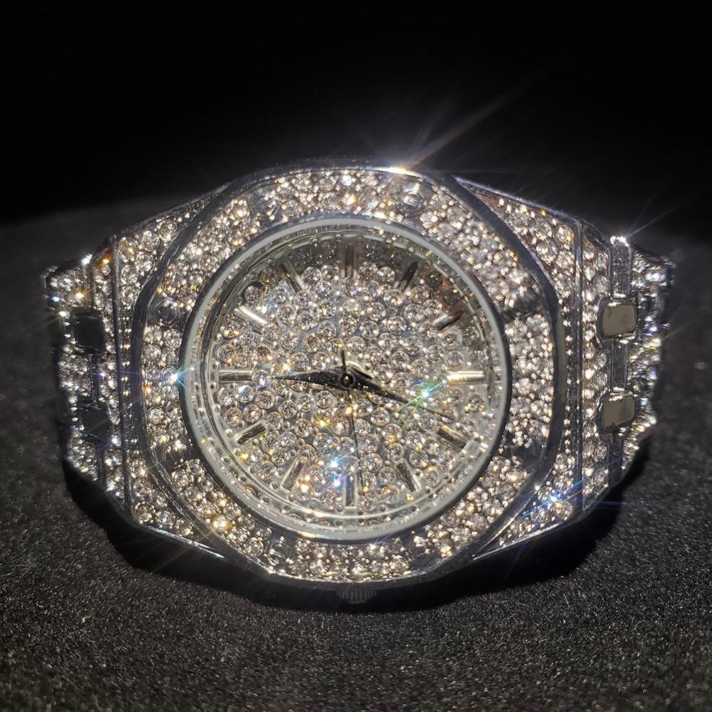 MISSFOX الفضة ساعة نسائية فستان كاجوال السيدات ساعة موضة مقاوم للماء الصلب ساعات يد كوارتز للنساء هدية عيد الحب
