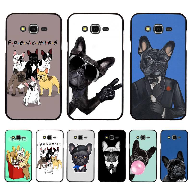 Babaite franceses muy cachorro Pug Bulldog caja del teléfono de la cáscara del teléfono para Samsung A50 A70 A40 A6 A8 más A7 A20 A30 S7 S8 S9 S10 S20 Plus
