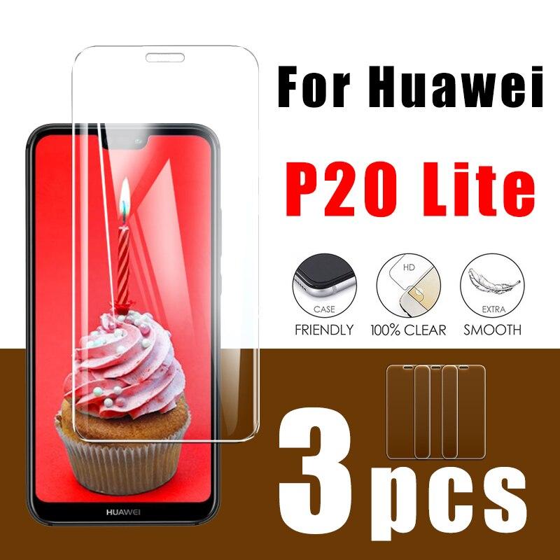1-3 uds H uawei P20 Lite vidrio h uawai p 20 protector de pantalla p20lite p20 lite huawey huwai glas tremp 9h