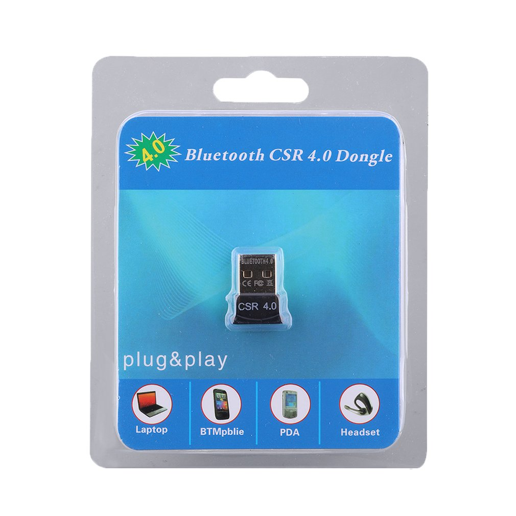CSR 4.0 Wireless Bluetooth Adapter USB Dongle Mini Audio Receiver for PC Computer Speaker Audio/ps4 Controller/transmitter